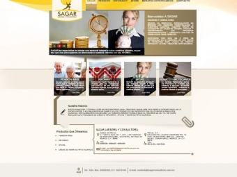 SAGAR – Página Web
