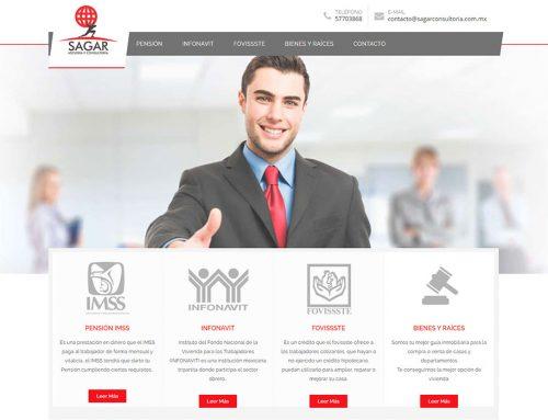 Sagar | Página Web